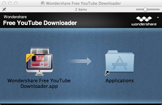 Install YouTube Downloader for Mac